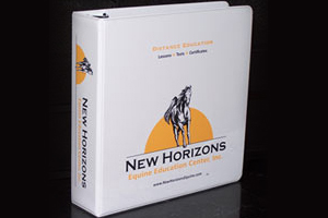 New Horizons binder