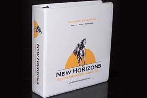 New Horizons binder